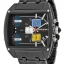 นาฬิกาผู้ชาย Diesel รุ่น DZ7325, Mothership Chronograph Three Time Zone Dial Black Ion-plated thumbnail 1