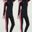 Swimsuit Bigsize พร้อมส่ง :ชุดแฟชั่นว่ายน้ำคนอ้วนสีดำแถบชมพูแขนยาวขายาวสีสันสดใสแบบเก๋ น่ารักมากๆจ้า:มีSize L,2XL,3XL รายละเอียดไซส์คลิกเลยจ้า thumbnail 1
