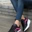 รองเท้าผ้าใบแฟชั่นเกาหลีพื้นหนา thumbnail 1
