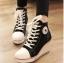 รองเท้าแฟชั่นผูกเชือกส้นสูง8cmสไตล์เกาหลี thumbnail 1
