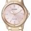 นาฬิกาผู้หญิง Citizen รุ่น FE6053-57W, Eco-Drive Swarovski 50m Pink Dial thumbnail 1