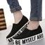 รองเท้าผ้าใบแบบสวมแฟชั่นพื้นหนา thumbnail 1