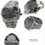 นาฬิกาผู้ชาย Diesel รุ่น DZ4282, Mega Chief Chronograph Quartz Black IP Grey Dial Men's Watch thumbnail 2