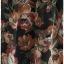 เดรส ชีฟอง แขนสั้น ต่อใต้อก ซิปข้าง สีดำ ลายดอก thumbnail 2