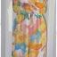 Sold Jumpsuit เอวจั๊ม ผ้าชีฟอง พื้นสีชมพู ลายดอก thumbnail 1