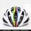 หมวกจักรยาน LAZER O2 สี Matte White Champion thumbnail 8