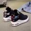 รองเท้าผ้าใบแฟชั่นเสริมสูง 6cm ไซต์ 35-40 thumbnail 2