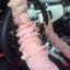 ถุงมือใส่ขับรถพร้อมส่ง : ถุงมือแฟชั่นใส่ขับรถสีชมพู ใส่ขับรถกันแสงแดด แบบน่ารักๆจ้า thumbnail 1