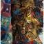 Sold เดรสยาว ผ้าชีฟอง อกป้าย เอวจั๊ม พิมพ์ลาย thumbnail 4