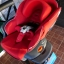 คาร์ซีทมือสอง Aprica Marshmallow สีแดง + หมวก รหัส CS0071 thumbnail 11