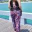 ชุดว่ายน้ำคนอ้วน พร้อมส่ง :ชุดว่ายน้ำไซส์ใหญ่สีดำแต่งลายโบฮีเมียนสีน้ำเงินชมพูสีสันสดใส set 4 ชิ้นมีเสื้อตัวนอก บราตัวใน กางเกงขาสั้น กางเกงขายาว แบบเก๋น่ารักมากๆจ้า:รายละเอียดไซส์คลิกเลยจ้า thumbnail 7