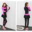ชุดว่ายน้ำคนอ้วน แบบสปอร์ตพร้อมส่ง :ชุดว่ายน้ำไซส์ใหญ่สีชมพูแขนขายาว. กางเกงขายาวแต่งกระโปรงระบาย สีสันสดใสแบบเก๋น่ารักมากๆจ้า:มีSize 3XL,6XLรายละเอียดไซส์คลิกเลยจ้า thumbnail 4