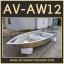 เรือท้องวี รุ่น AV-AW12 ( เป็นแบบเชื่อมทั้งลำ )