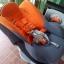 คาร์ซีท Aprica รุ่น Grand Bed สีส้ม-เทา รหัสสินค้า CS0024 thumbnail 5