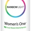 Rainbow Light, Just Once, Women's One, Food-Based Multivitamin, 150 Tablets thumbnail 1