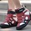 รองเท้าสีผสมรองเท้าลำลอง Velcro 10cmเวอร์ชั่นเกาหลี thumbnail 1