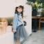 YY23-เสื้อ+กระโปรง 5 ตัว/แพค ไซส์ 100-140 thumbnail 1