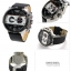 นาฬิกาผู้ชาย Diesel รุ่น DZ4361, Ironside Chronograph Black Dial Black Leather thumbnail 2