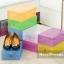 กล่องพลาสติกใส ใส่รองเท้า แบบพับได้ น้ำหนักเบา thumbnail 11