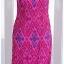 Sold ชุดกี่เพ้า ผ้าไหมไทย สีชมพูบานเย็น พิมพ์ลาย thumbnail 3