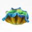 หอยมือเสือเรืองแสง สีเหลืองเขียว thumbnail 1