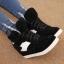 รองเท้าหุ้มเสริมสูงเเฟชั่นเกาหลีหนังpu thumbnail 1
