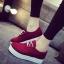 รองเท้าผ้าใบพื้นหนา3-5 cm มีเชือกผูก thumbnail 1