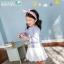 BZ269-เสื้อ+กระโปรง 5 ตัว/แพค ไซส์ 90 100 100 110 110 thumbnail 2