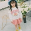 YY22-เสื้อ+กระโปรง 5 ตัว/แพค ไซส์ 100-140 thumbnail 3