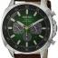 นาฬิกาผู้ชาย Seiko รุ่น SSC513, Solar Chronograph Brown Leather Strap thumbnail 1