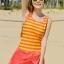 ชุดว่ายน้ำคนอ้วน วันพีชพร้อมส่ง :ชุดว่ายน้ำแฟชั่นสีส้มแต่งลายทางสีเหลืองสีสันสดใส กางเกงขาสั้นใส่ด้านในน่ารักมากๆจ้า:รอบอก36-42นิ้ว เอว30-38นิ้ว สะโพก34-44นิ้ว thumbnail 1