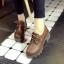 รองเท้าบูทหนังPU thumbnail 1