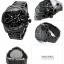 นาฬิกาผู้ชาย Diesel รุ่น DZ4283, Mega Chief Quartz Chronograph Grey Dial Black IP thumbnail 2