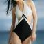 ชุดว่ายน้ำแฟชั่นพร้อมส่ง :ชุดว่ายน้ำวันพีชสีขาวดำสายคล้องคอแบบเก๋ น่ารักมากๆจ้า:รอบอก28-34นิ้ว เอว 30-34นิ้ว สะโพก32-38นิ้วจ้า thumbnail 1