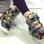 รองเท้าผ้าใบหุ้มข้อส้นสูงแฟชั่น thumbnail 1