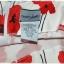 Sold เดรส แขนกุด เข้าเอว ซิปหลัง พื้นสีขาว ลายดอก thumbnail 4