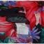 Sold เดรส เกาะไหล่ เข้าเอว ซิปหลัง พื้นสีดำ ลายดอก thumbnail 4