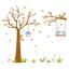 สติ๊กเกอร์ลายกระรอกปีนต้นไม้ใหญ่ thumbnail 4