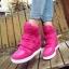 รองเท้าผ้าใบแฟชั่นเกาหลีเสริมส้นสูง5-7cm thumbnail 1