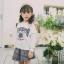 YY20-เสื้อ+กระโปรง 5 ตัว/แพค ไซส์ 100-140 thumbnail 1