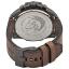นาฬิกาผู้ชาย Diesel รุ่น DZ4463, Mega Chief Black Dial Brown Leather Strap Men's Watch thumbnail 4