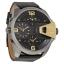 นาฬิกาผู้ชาย Diesel รุ่น DZ7377, Uber Chief Black Dial Black Leather thumbnail 2