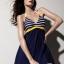 ชุดว่ายน้ำวันพีชพร้อมส่ง :ชุดว่ายน้ำสีน้ำเงินแต่งลายทางสีขาวคาดเหลือง สายคล้องคอผูกโบว์แบบเก๋สีสันสดใส กางเกงใส่ด้านในน่ารักมากๆจ้า:รอบอก36-44นิ้ว เอว34-42นิ้ว สะโพก34-44นิ้ว thumbnail 1