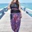 ชุดว่ายน้ำคนอ้วน พร้อมส่ง :ชุดว่ายน้ำไซส์ใหญ่สีดำแต่งลายโบฮีเมียนสีน้ำเงินชมพูสีสันสดใส set 4 ชิ้นมีเสื้อตัวนอก บราตัวใน กางเกงขาสั้น กางเกงขายาว แบบเก๋น่ารักมากๆจ้า:รายละเอียดไซส์คลิกเลยจ้า thumbnail 6