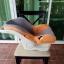 กระเช้าคาร์ซีท Leaman สีส้มเทา รหัสสินค้า CS0019 thumbnail 5