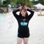 ชุดว่ายน้ำคนอ้วน แบบสปอร์ตพร้อมส่ง :ชุดว่ายน้ำไซส์ใหญ่สีดำแขนยาวแต่งลายอักษรขอบฟ้า set 4 ชิ้น มีเสื้อแขนยาว บรา บิกินี่ กางเกงขาสั้น แบบสวยน่ารักมากๆจ้า:รายละเอียดไซส์คลิกเลยจ้า thumbnail 8