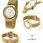 นาฬิกาผู้หญิง Skagen รุ่น 358SGGD, Freja Gold Tone Mesh Bracelet Women's Watch thumbnail 2
