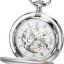 นาฬิกาพกพา Charles-Hubert รุ่น 3594, Mechanical Silver Tone thumbnail 1