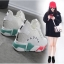 รองเท้าผ้าใบเสริมสูง 6cm หุ้มข้อ ไซต์ 35-43 thumbnail 2