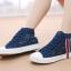 รองเท้าผ้าใบผู้หญิงพื้นเตี้ยลายลูกไม้ thumbnail 1